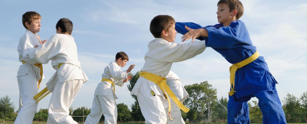 Funny judo